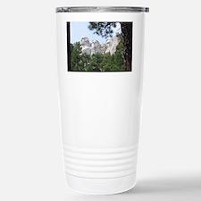 Mount Rushmore Stainless Steel Travel Mug