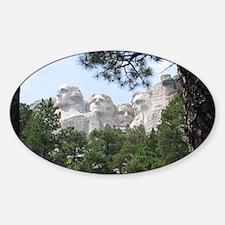 Mount Rushmore Decal