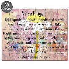 Nurse prayer blanket PINK Puzzle