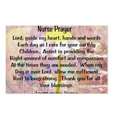 Nurse prayer blanket PINK Postcards (Package of 8)