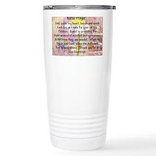 Nurse prayer blanket PINK Travel Mug