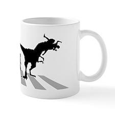 Eaten-By-Dinosaur-B Small Mug
