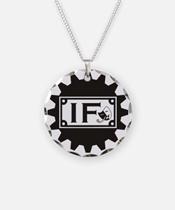 IF Gear Logo Necklace