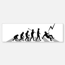 Struck-By-Lightning Bumper Bumper Sticker