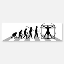 Vitruvian-Man Sticker (Bumper)