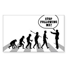 Stop-Following-Me Decal