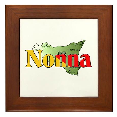 Nonna Framed Tile