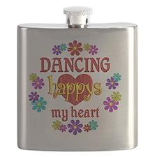 Dancing Happy Flask