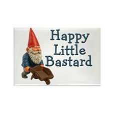 Happy little bastard Rectangle Magnet