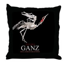 JaponicaW Throw Pillow