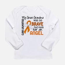 Angel 2 Leukemia Long Sleeve T-Shirt