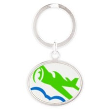KAPVFC front and back Oval Keychain