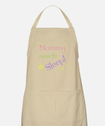 Mommy Needs Sleep BBQ Apron