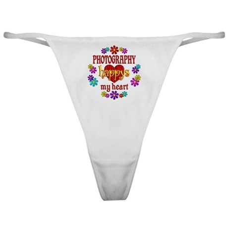 Photography Happy Classic Thong