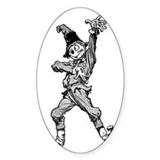 Scarecrow Dancing Disco Style Decal