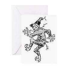 Scarecrow Skanking Greeting Card