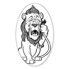 Cowardly Lion Decal
