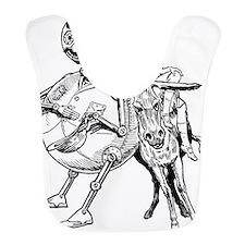Tiktok with Dorothy on Donkey Bib