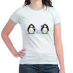 Communication - Penguin Humor Jr. Ringer T-Shirt