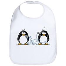 Communication - Penguin Humor Bib
