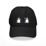 Communication - Penguin Humor Black Cap