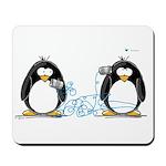 Communication - Penguin Humor Mousepad