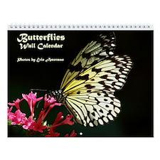 Butterflies Wall Calendar - New!