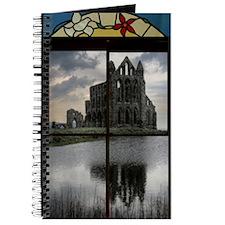 GOTHIC CHURCH ACROSS THE LAKE WINDOW Journal