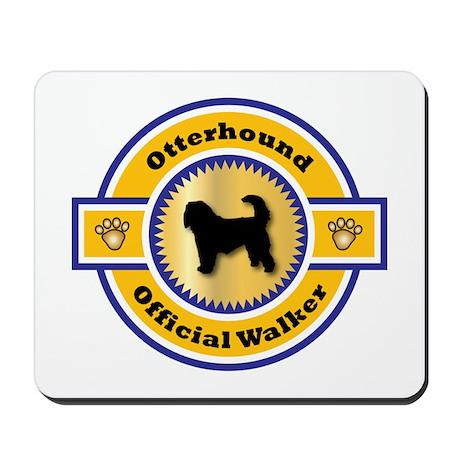 Otterhound Walker Mousepad