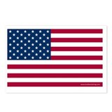 American flag Postcards