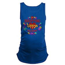 Shopping Happy Maternity Tank Top