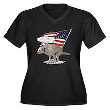 Politicians  Women's Plus Size Dark V-Neck T-Shirt
