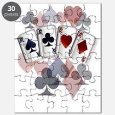 Four Aces and Suits Puzzle