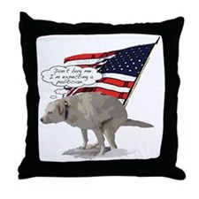 Politicians suck Throw Pillow
