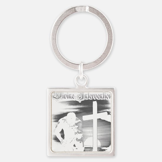 Divine Intervention Homage Square Keychain