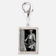El Torrero Silver Portrait Charm