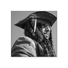 """Captain Jack Sparrow Square Sticker 3"""" x 3"""""""