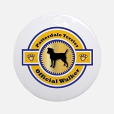 Patterdale Walker Ornament (Round)