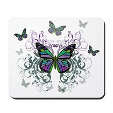 MultiColored Butterflies Mousepad