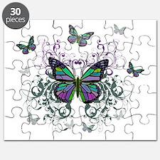 MultiColored Butterflies Puzzle