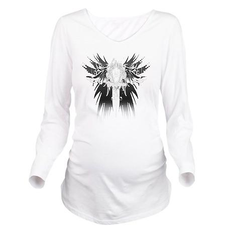 Divine Intervention Long Sleeve Maternity T-Shirt