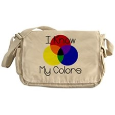 I-Know-My-Colors Messenger Bag