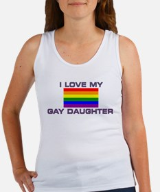 Gay Lesbian I love my Gay Daughter Tank Top