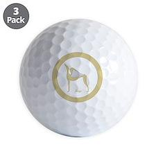 KEYS ANGEL GREY ORNAMENT Golf Ball