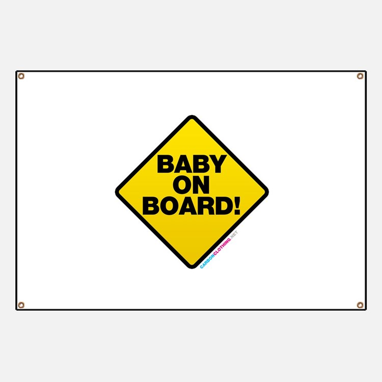 Baby On Board Banner