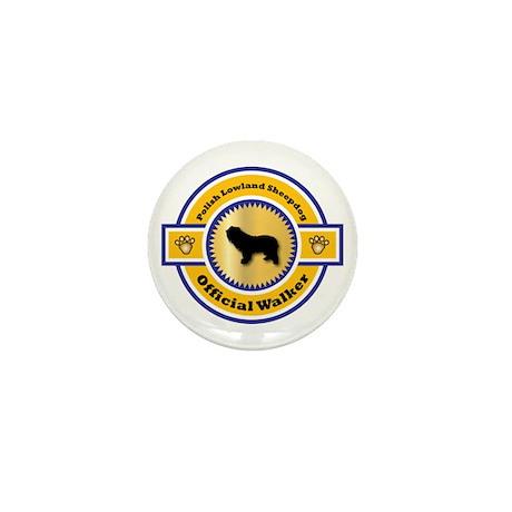 Sheepdog Walker Mini Button (100 pack)