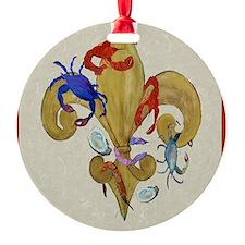 Cajun Fleur de lis Ornament
