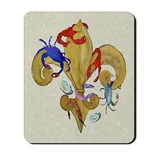 Cajun Fleur de lis Mousepad