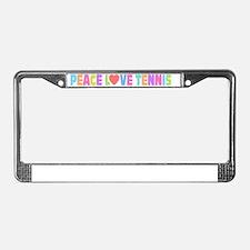 bumper License Plate Frame