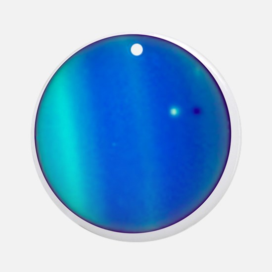 Uranus Round Ornament